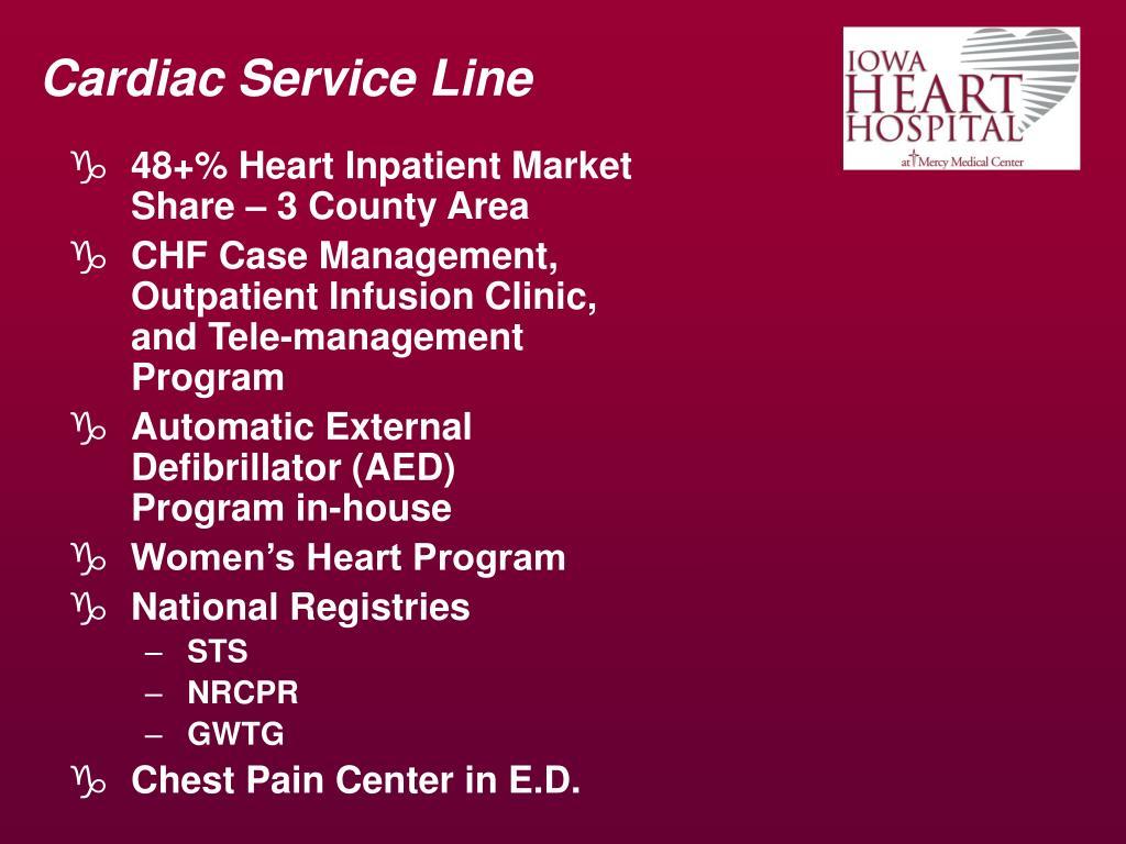 Cardiac Service Line