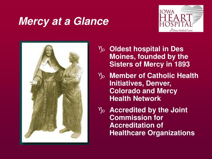 Mercy at a glance3