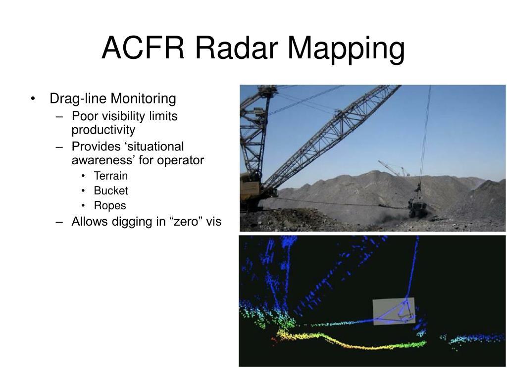 ACFR Radar Mapping
