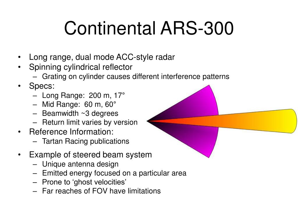 Continental ARS-300