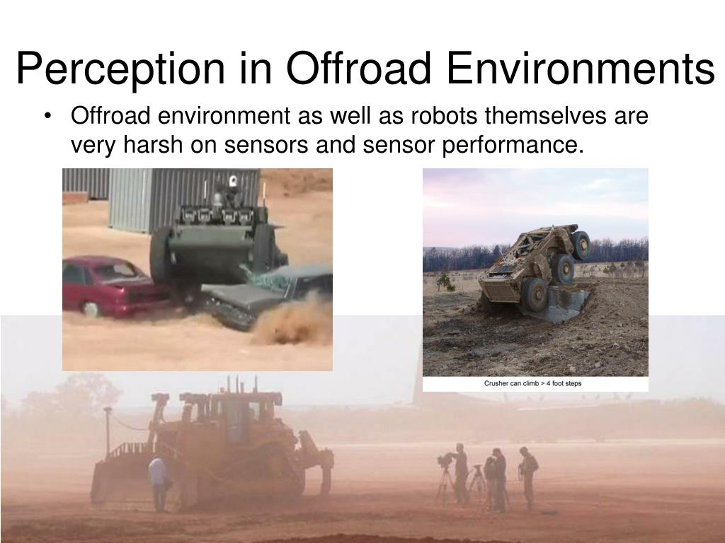 Perception in Offroad Environments