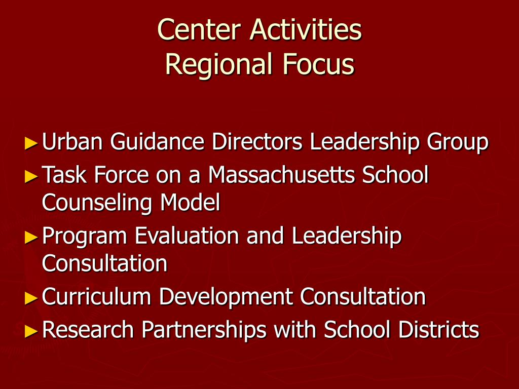 Center Activities