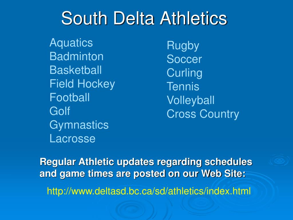 South Delta Athletics
