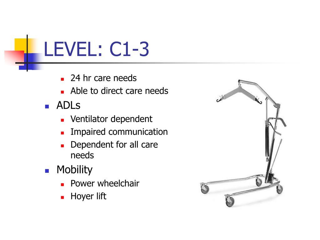LEVEL: C1-3