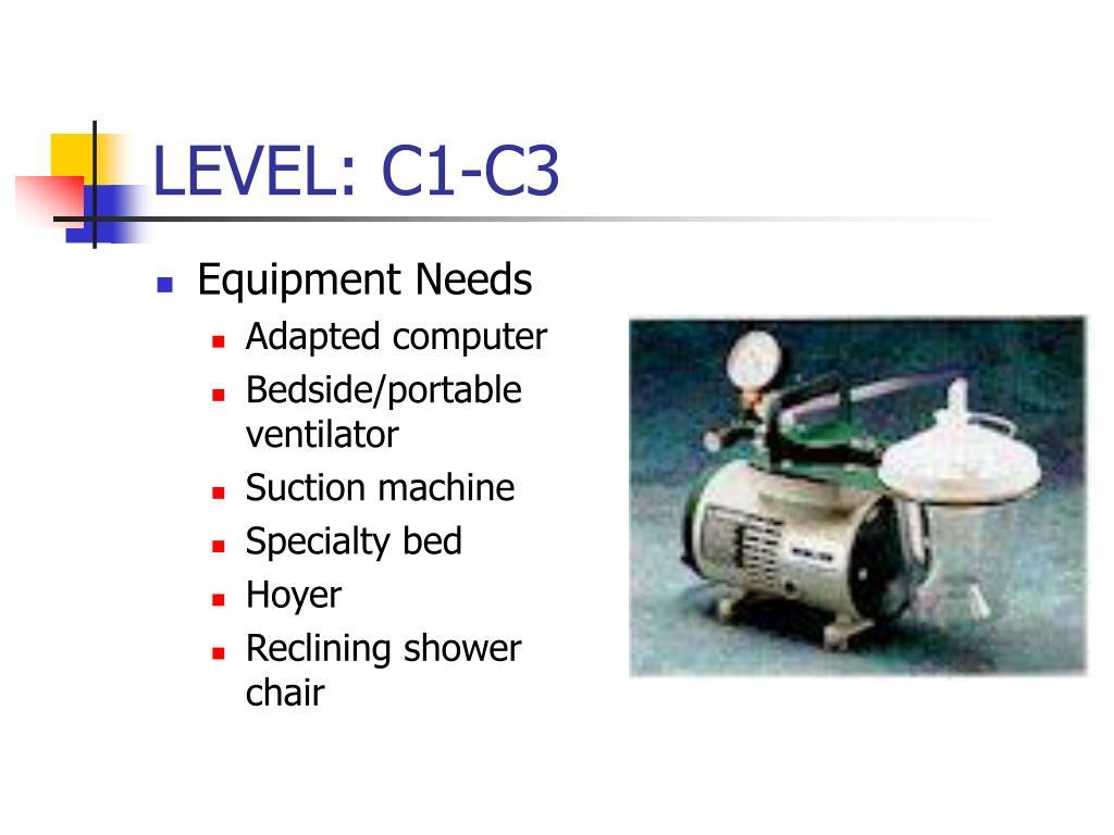 LEVEL: C1-C3