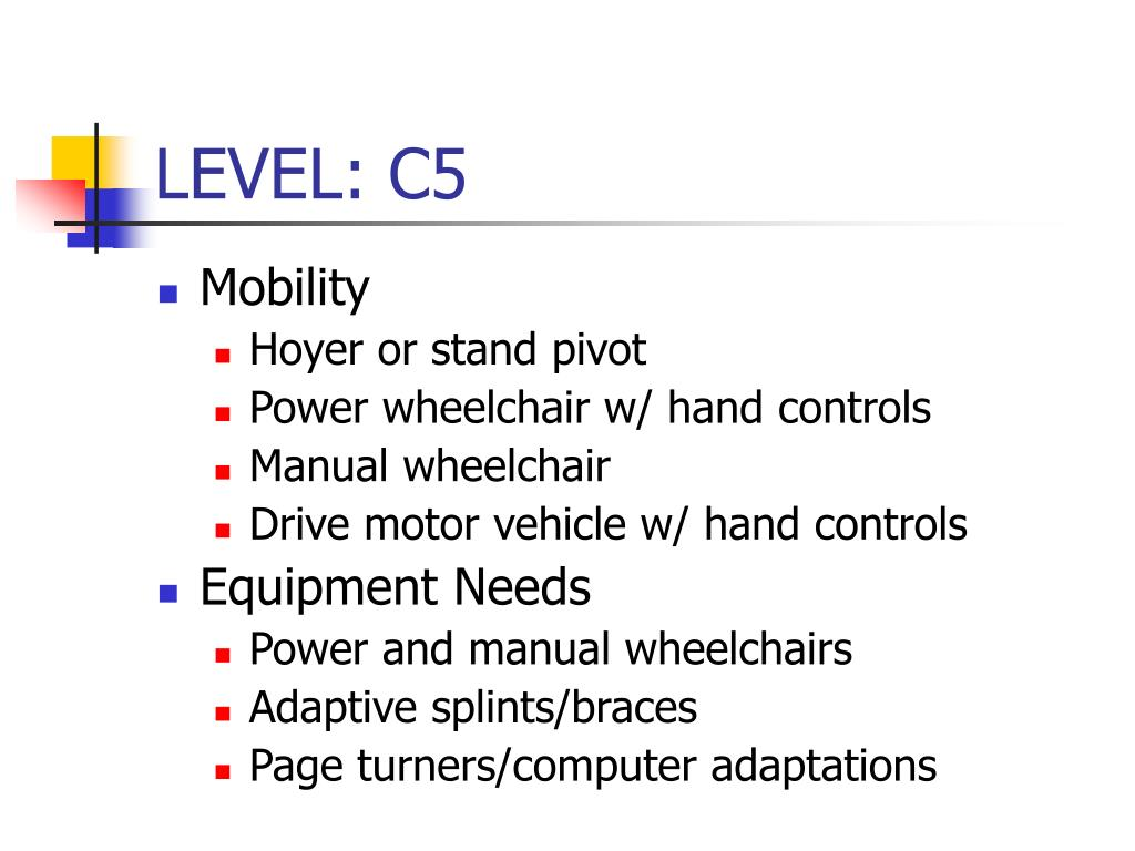 LEVEL: C5
