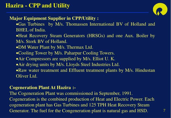 Hazira - CPP and Utility
