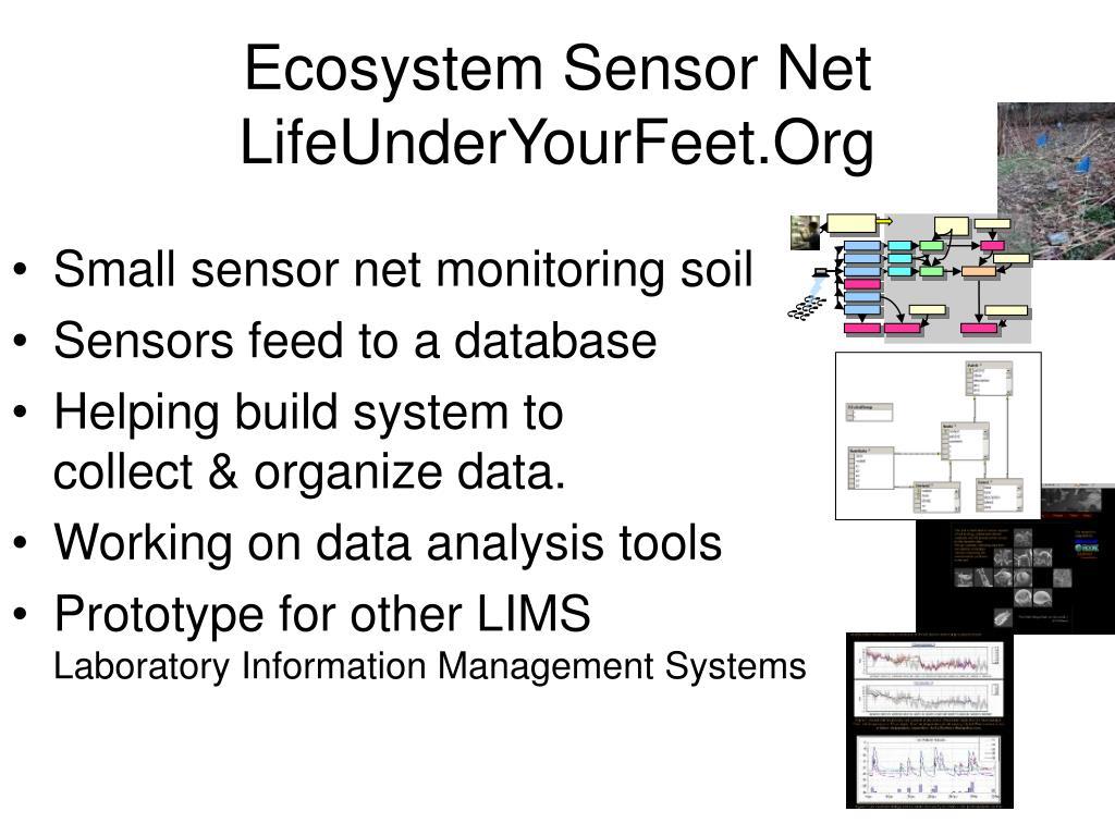 Ecosystem Sensor Net