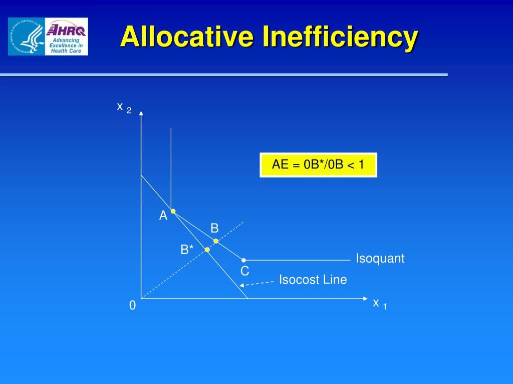Allocative Inefficiency