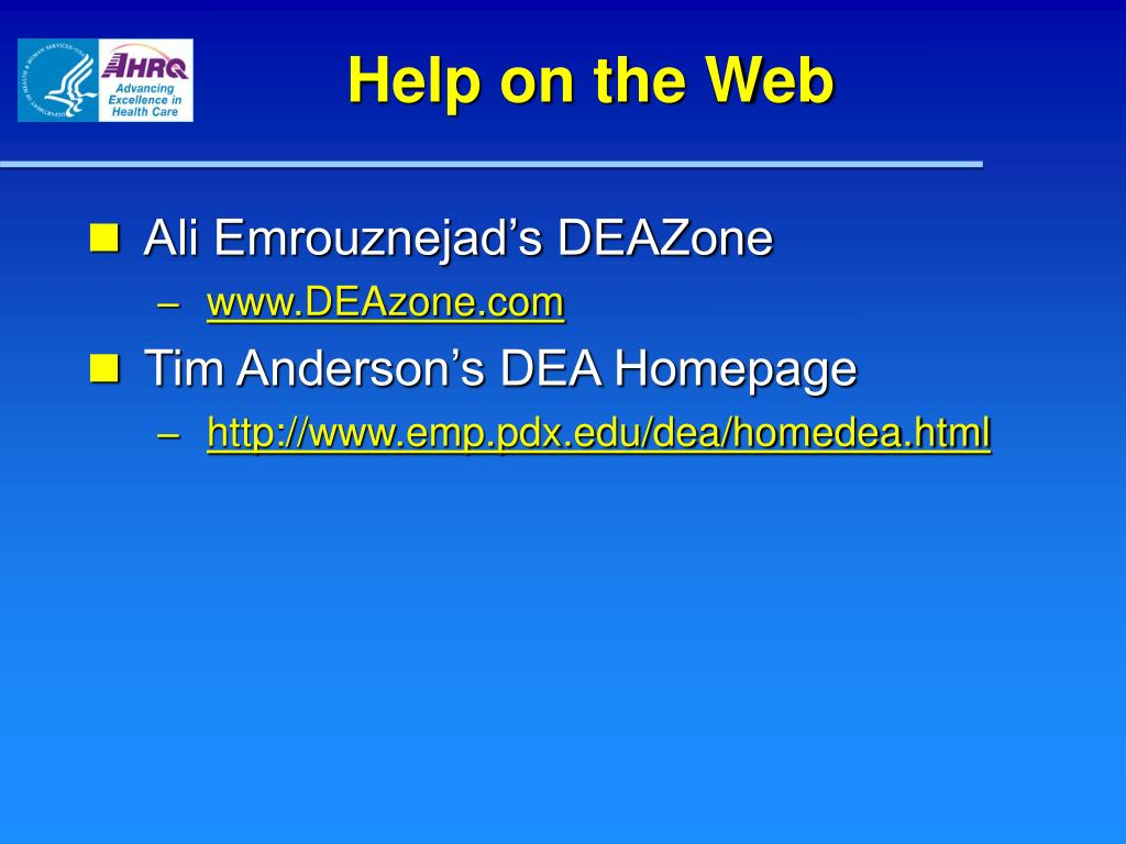 Help on the Web