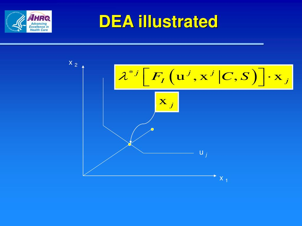 DEA illustrated