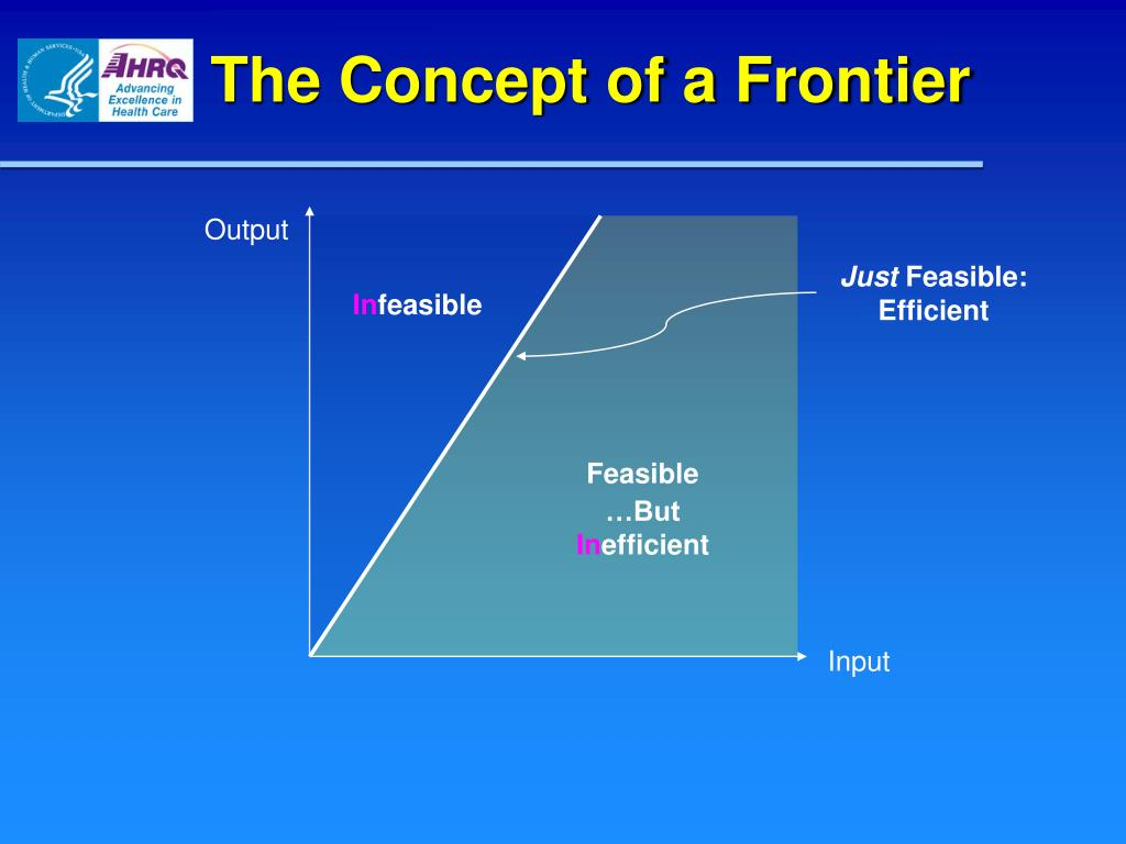 The Concept of a Frontier