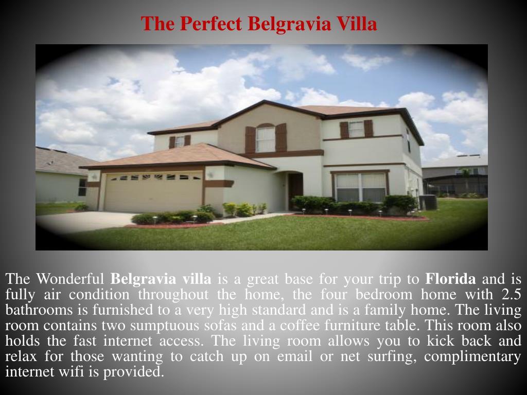 The Perfect Belgravia Villa
