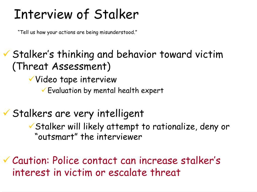 Interview of Stalker