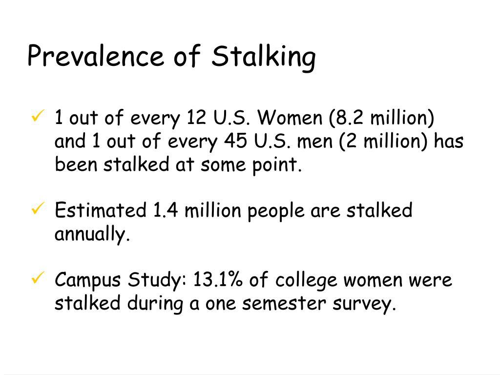 Prevalence of Stalking