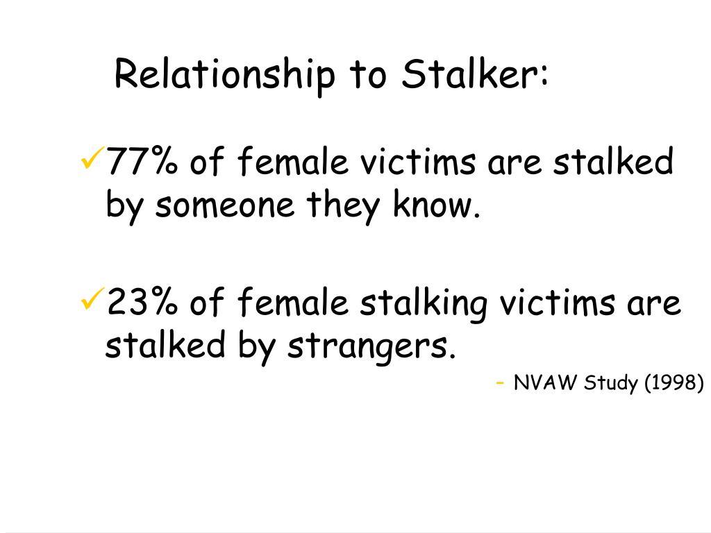 Relationship to Stalker: