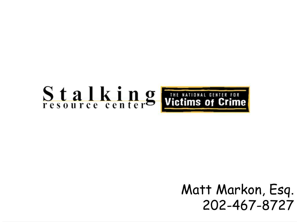 Matt Markon, Esq.
