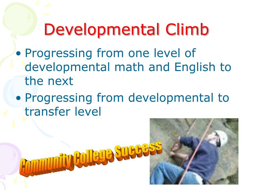 Developmental Climb
