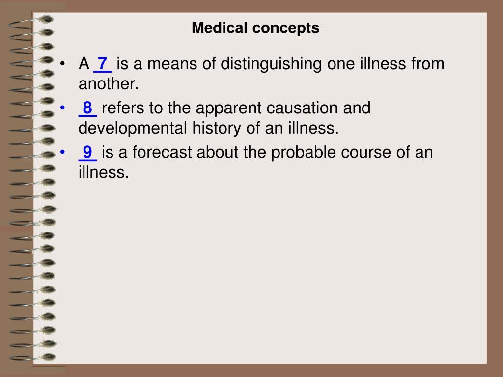Medical concepts