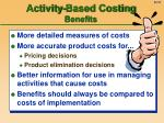 activity based costing benefits
