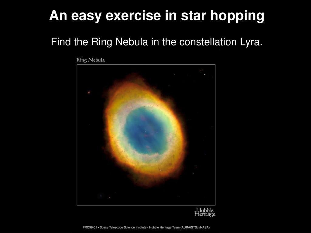 An easy exercise in star hopping