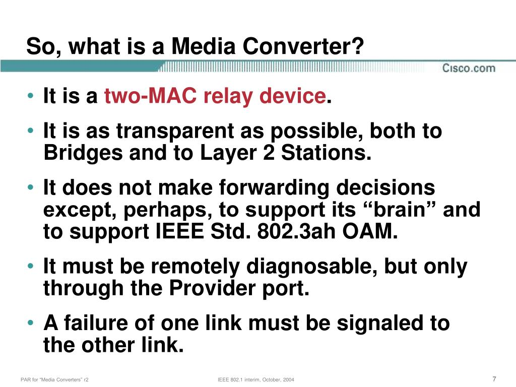 So, what is a Media Converter?