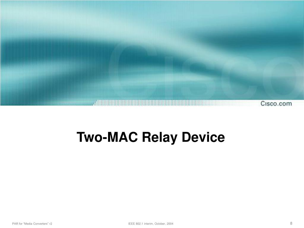 Two-MAC Relay Device