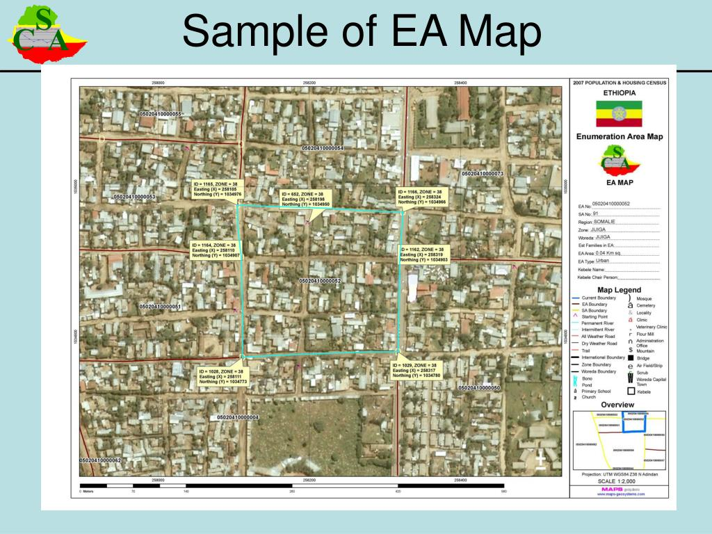 Sample of EA Map