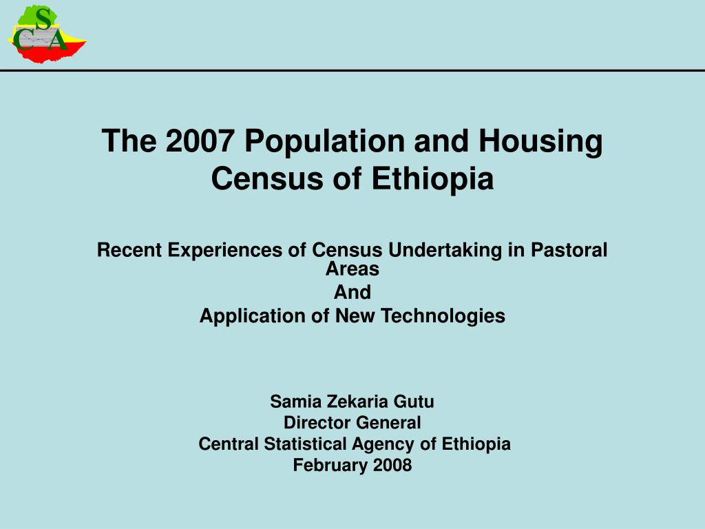 Population in Ethiopia: size and ethnic composition 31