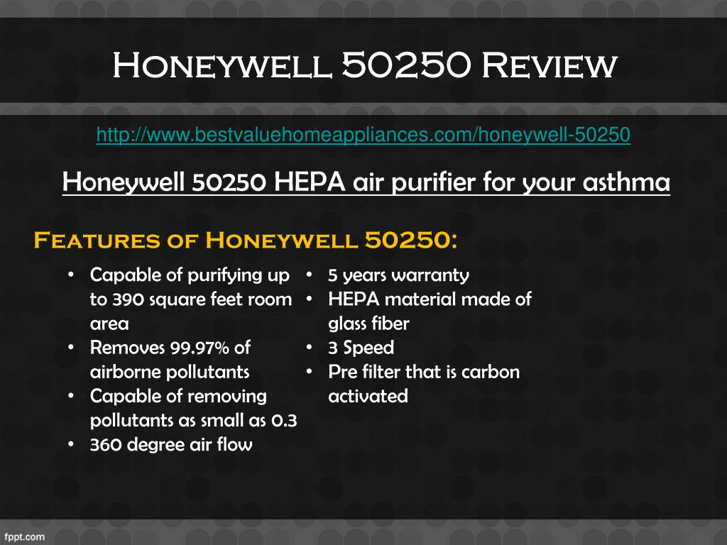 Honeywell 50250 Review