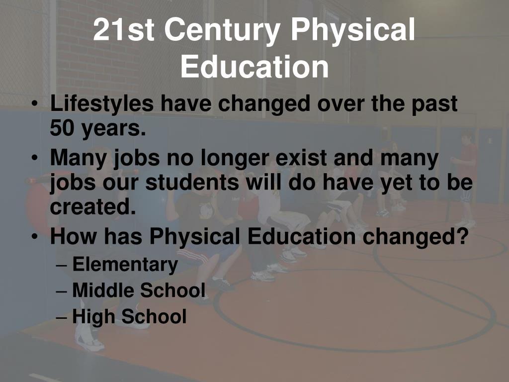 21st Century Physical Education