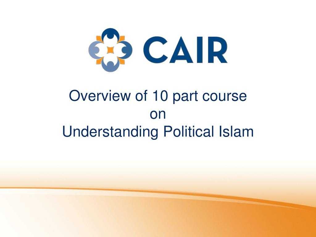 Overview of 10 part course