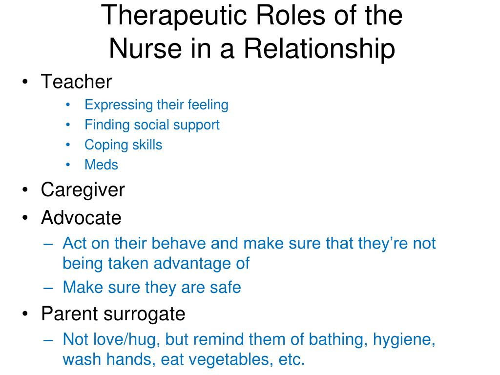 Therapeutic Roles of the