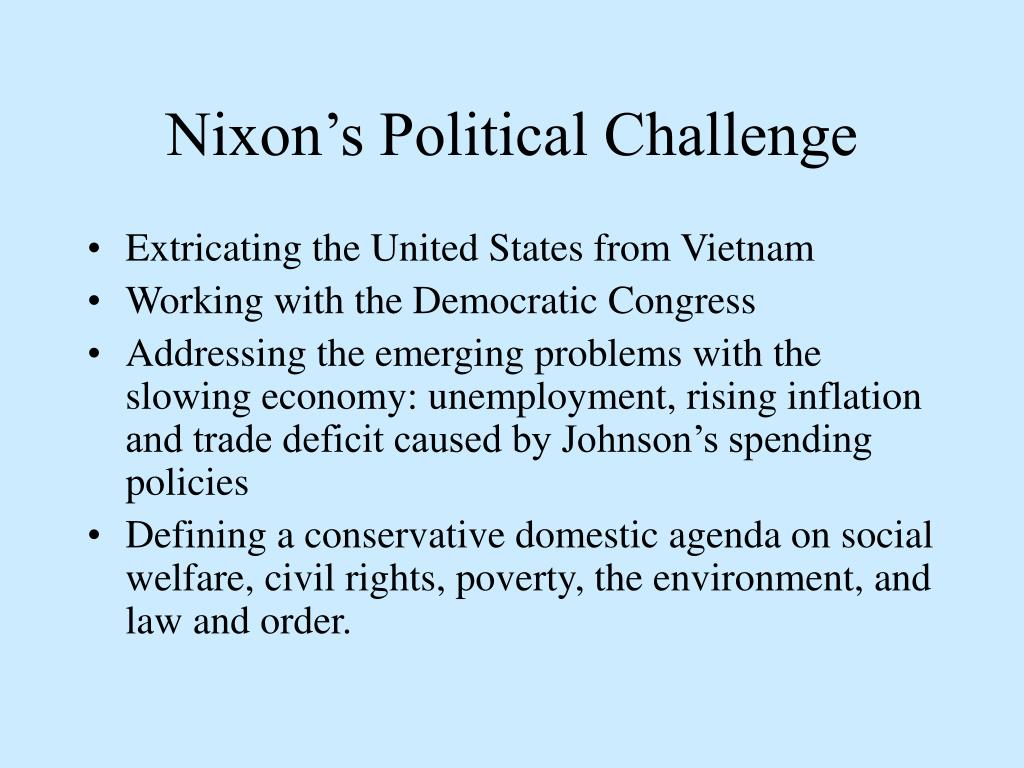 Nixon's Political Challenge