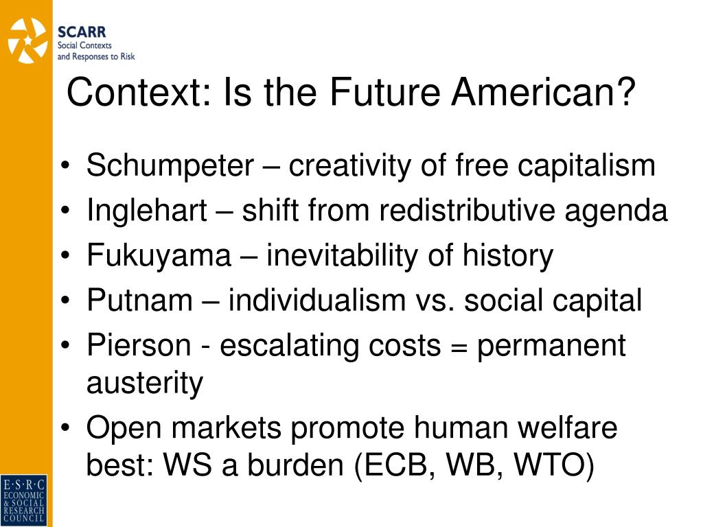 Context: Is the Future American?