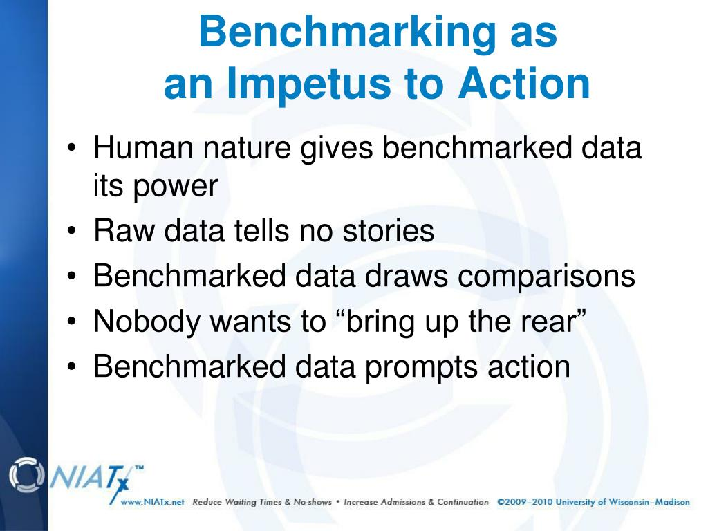 Human nature gives benchmarked data its power