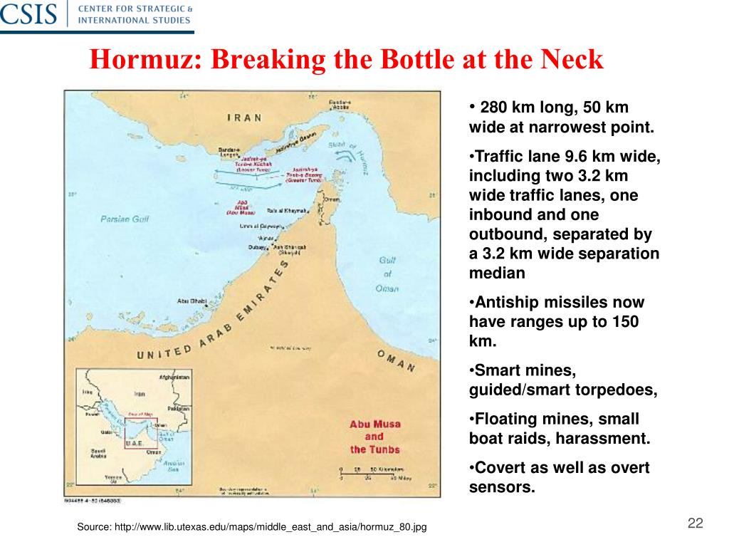 Hormuz: Breaking the Bottle at the Neck