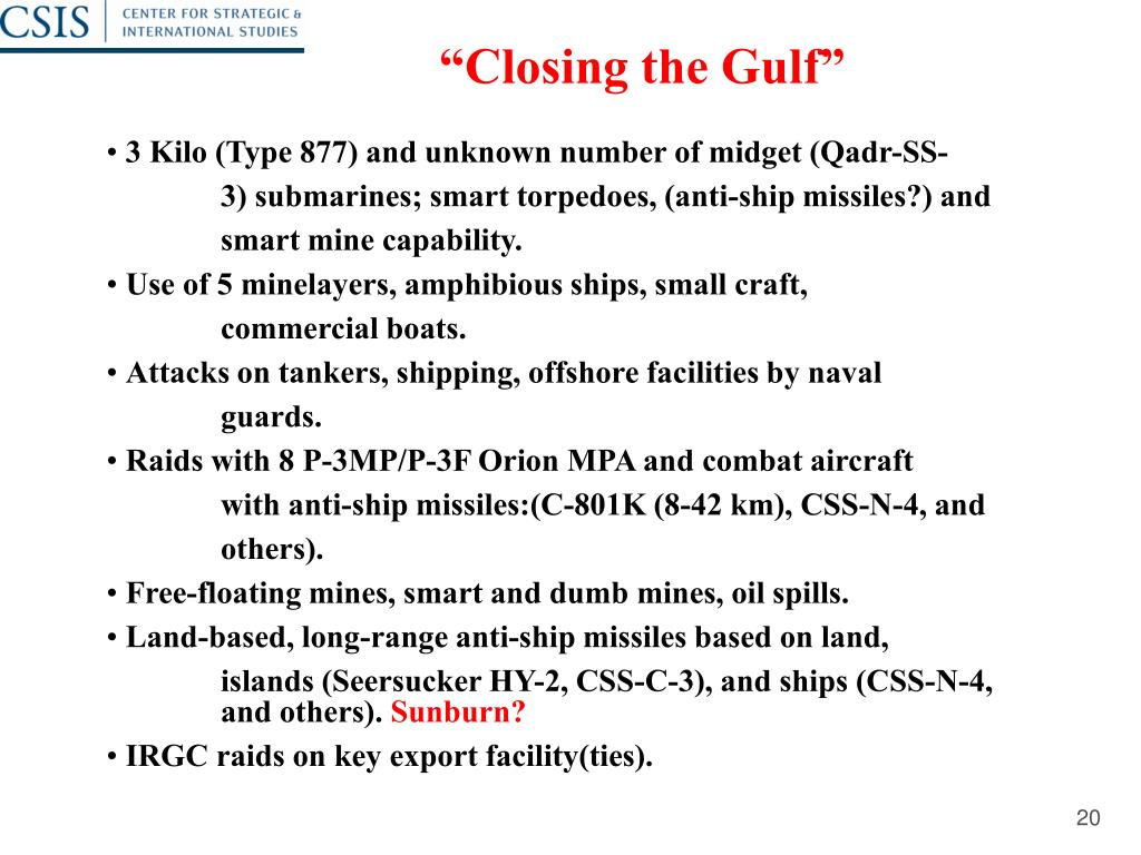 """Closing the Gulf"""