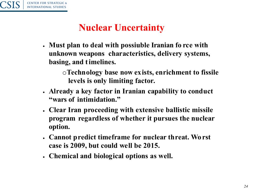 Nuclear Uncertainty