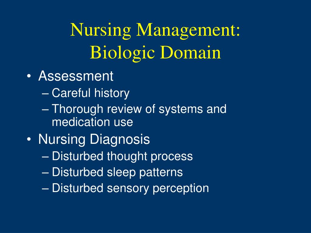 Nursing Management: