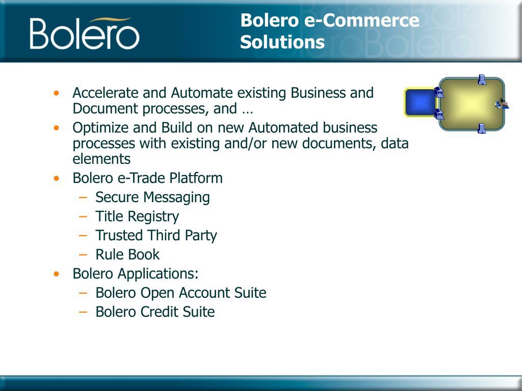 Bolero e-Commerce Solutions