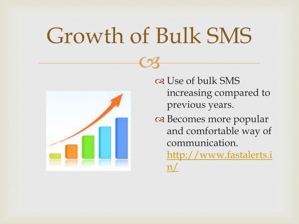 Growth of Bulk SMS