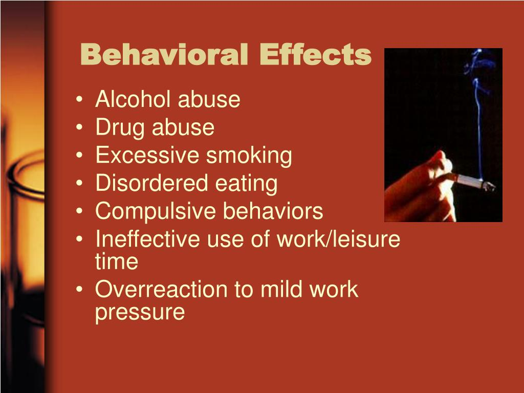Behavioral Effects