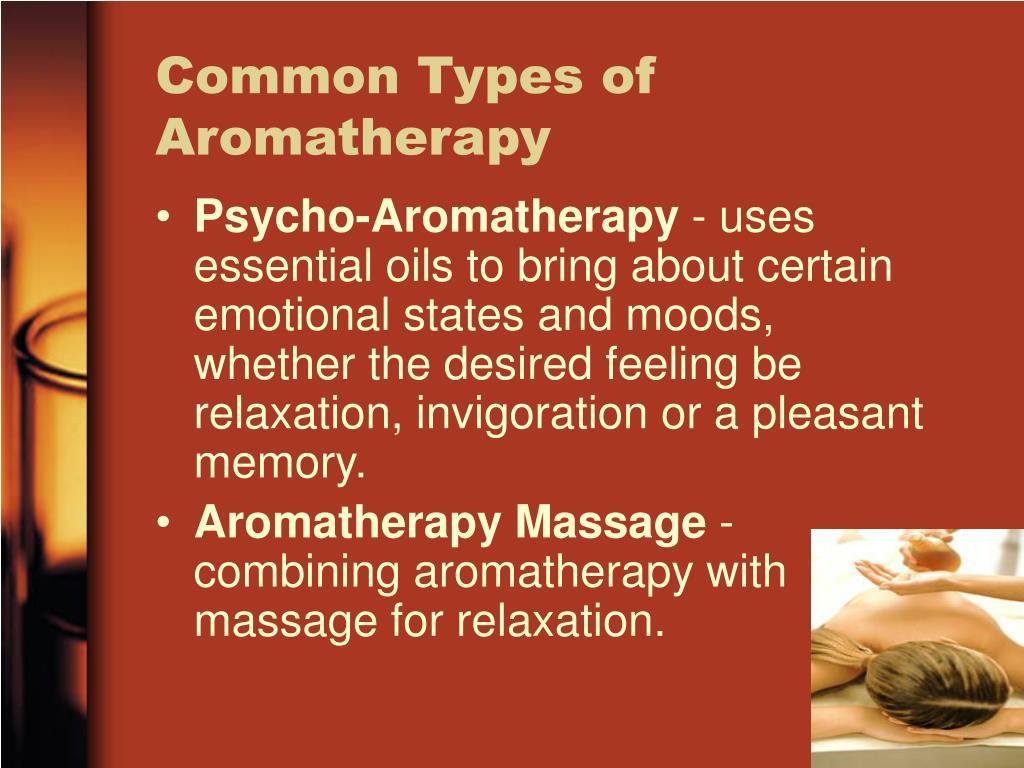 Common Types of Aromatherapy