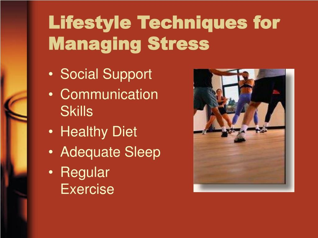 Lifestyle Techniques for Managing Stress