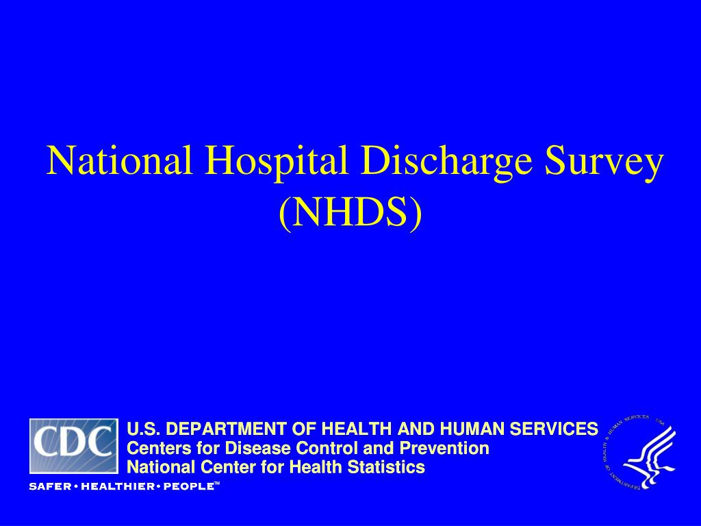 National Hospital Discharge Survey
