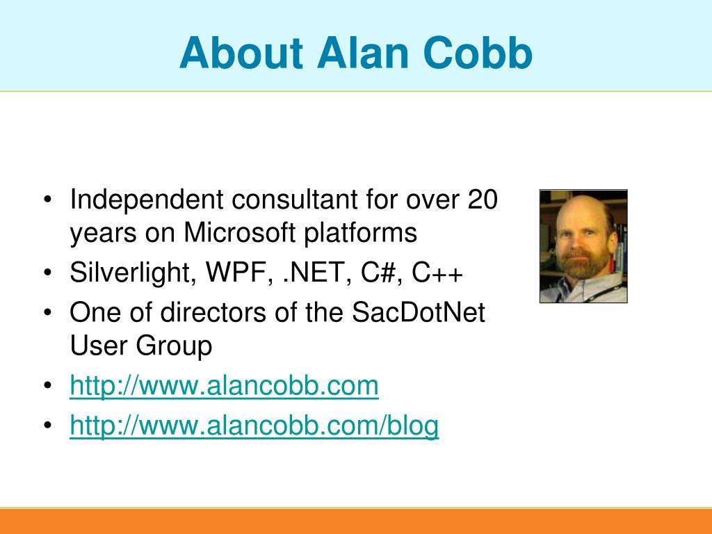 About Alan Cobb
