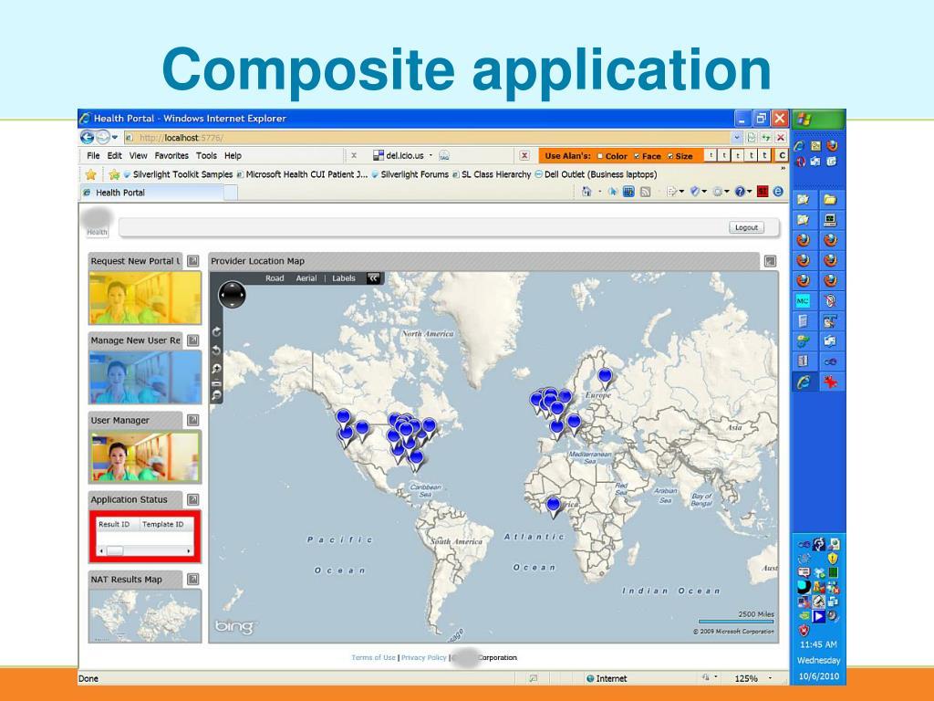 Composite application