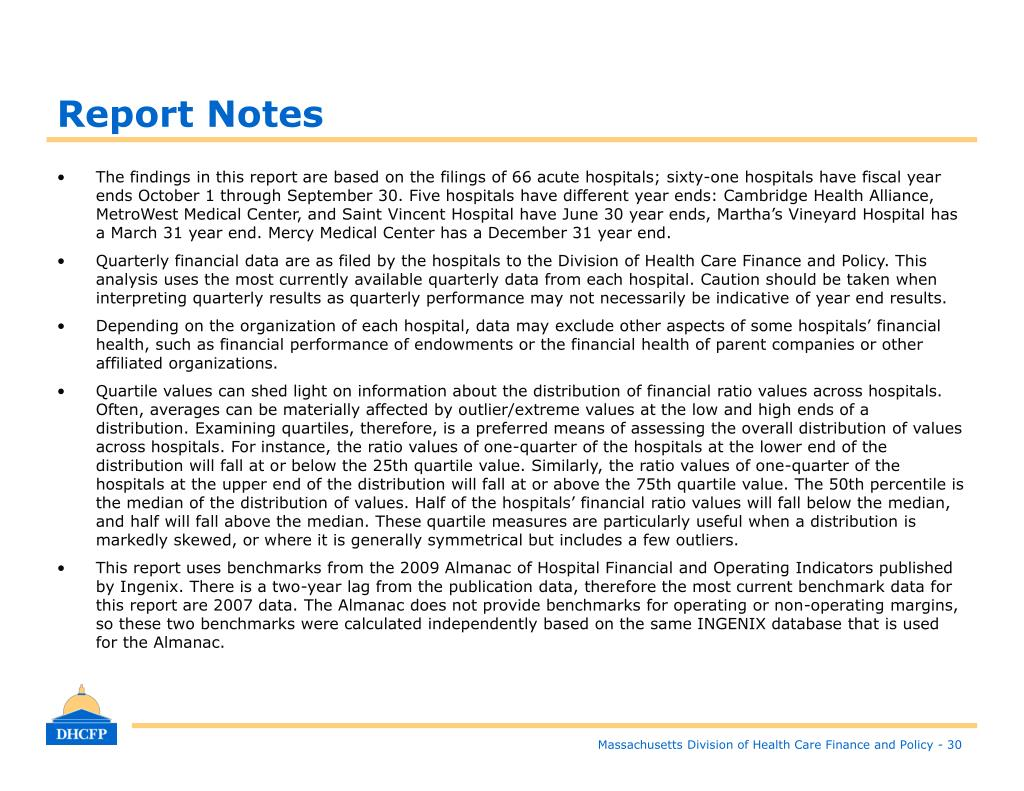 Report Notes