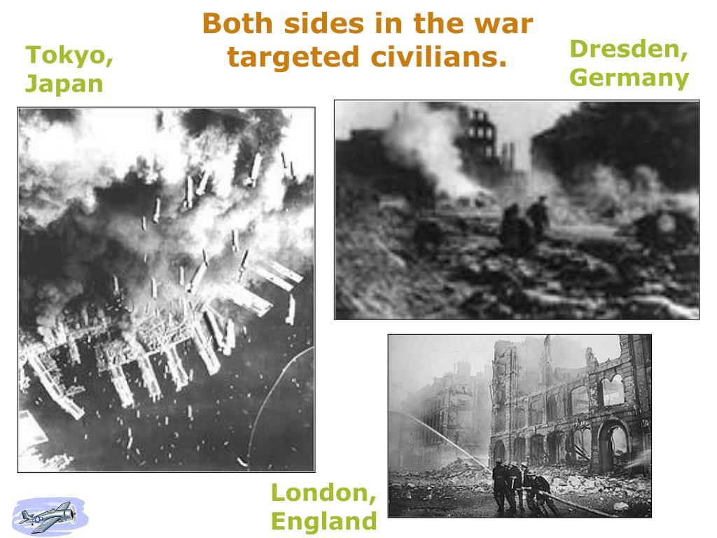 Both sides in the war